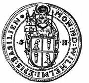 ½ Thaler - Wilhelm Rinck von Baldenstein – obverse