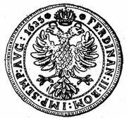 ½ Thaler - Wilhelm Rinck von Baldenstein – reverse