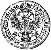 1 Thaler - Johann Franz von Schönau-Zell – reverse