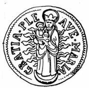 1 Batzen - Johann Konrad I von Roggenbach – reverse