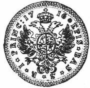 2 Ducat - Johann Konrad II von Reinach-Hirzbach – reverse