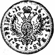 1 Ducat - Johann Konrad II von Reinach-Hirzbach – reverse