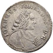 20 Kreuzer - Johann Konrad II von Reinach-Hirzbach – obverse