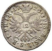 12 Kreuzer - Johann Konrad II von Reinach-Hirzbach – reverse