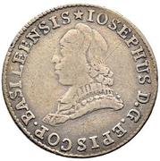 12 Kreuzer - Franz Joseph Sigismund von Roggenbach – obverse