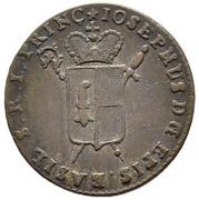 ½ Batzen - Franz Joseph Sigismund von Roggenbach – obverse