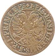 ½ Batzen - Johann Conrad II – reverse