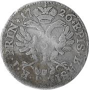 6 Kreuzer - Johann Conrad II – reverse