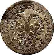 1 Batzen - Johann Conrad II – reverse