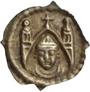 1 Pfennig - Berthold von Pfirt – obverse