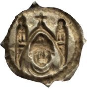 1 Pfennig - Berthold von Pfirt – reverse