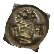1 Pfennig - Johann II Senn von Münsingen – reverse