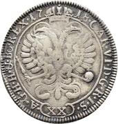 12 Schilling - Johann Konrad II von Reinach-Hirzbach – reverse