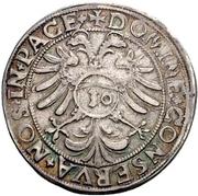 ½ Guldenthaler – reverse