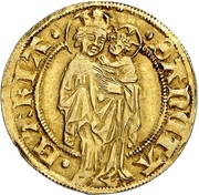 1 Goldgulden (Interregnum) – reverse