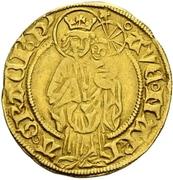 1 Goldgulden - Albrecht II. – reverse