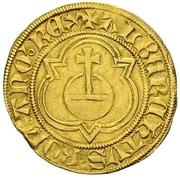 1 Goldgulden - Albrecht II. – obverse