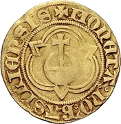 1 Goldgulden (Interregnum) – obverse