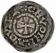 1 Denar - Konrad III. der Friedfertige (Burgundian Kingdom) – obverse