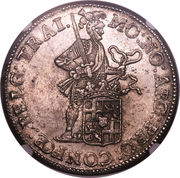 Rijksdaalder (2½ Gulden) – obverse