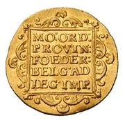 1 Dukaat (French Protectorate; Trade Coinage) – reverse