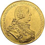 10 Ducat - Károly Batthyány – obverse