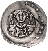 1 Pfennig - Ludwig I. der Kehlheimer – obverse