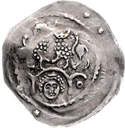 1 Pfennig - Ludwig I. der Kehlheimer – reverse