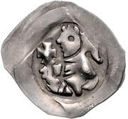 1 Pfennig - Rudolph I. der Stammler – obverse