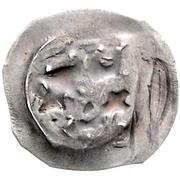 1 Pfennig - Rudolph I. der Stammler – reverse