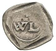 1 Pfennig - Wilhelm IV and Ludwig X – obverse