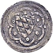 1 Pfennig - Johann II. – reverse