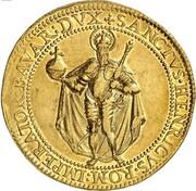 8 Ducat - Maximilian I – reverse