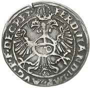 10 Kreuzer - Albert V der Großmütige – reverse