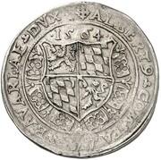 ½ Guldentaler - Albert V der Großmütige – obverse