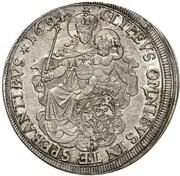 ½ Thaler - Maximilian II Emanuel – reverse