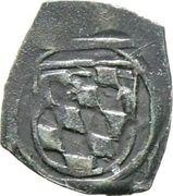 1 Pfennig (Vierschlag-Pfennig) - Albrecht IV. – reverse