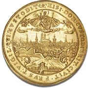 5 Ducat - Maximilian I (Trade Coinage) – reverse