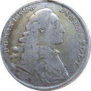 ½ Thaler - Maximilian III Joseph – obverse