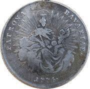 ½ Thaler - Maximilian III Joseph – reverse