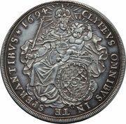 1 Thaler - Maximilian II – reverse