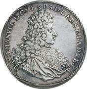 1 Konventionsthaler - Maximilian II – obverse