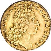 ½ Maximilian d'Or - Emanuel Maximilian II – obverse