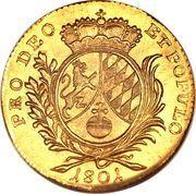 1 Ducat - Maximilian IV. – reverse