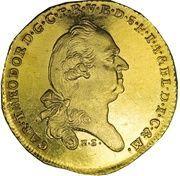 1 Ducat - Karl Theodor (Inngold-Dukat) – obverse
