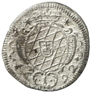 1 Kreuzer - Maximilian II Emanuel – reverse