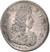 30 Kreuzer - Maximilian II Emanuel – obverse