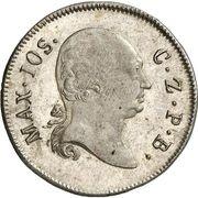6 Kreuzer - Maximilian IV (Kreuzer Landmünze) – obverse
