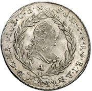 10 Kreuzer - Maximilian III Joseph (Konventionskreuzer) – obverse