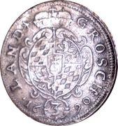 3 Kreuzer - Maximilian II Emanuel – reverse